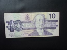 CANADA : 10 DOLLARS   1989     P 96a      TTB * - Canada