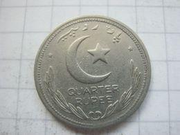 Pakistan , 1/4 Rupee 1949 - Pakistan