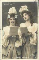 Artistes -ref D227- Femmes - Femme - Artiste - Theatre Des Varietes Le Petit Duc - Melles Debrives Et Hyriette  - - Entertainers