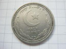Pakistan , 1/2 Rupee 1948 - Pakistan