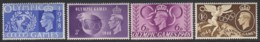 Great Britain Sc 271-274 (SG 495-498), MLH - 1902-1951 (Re)