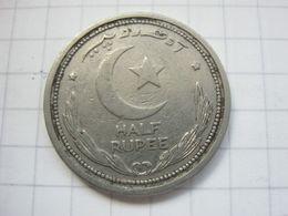 Pakistan , 1/2 Rupee 1951 - Pakistan