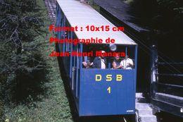 Reproduction D'une Photographie Du Funiculaire DSB 1 à Davos En Suisse En 1971 - Reproductions
