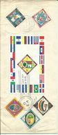 COSTA RICA 1960 CONFERENCE SET & MS FDC. - Costa Rica