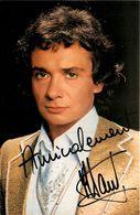 MICHEL SARDOU * CPA Artiste Chanteur Musicien * Dédicace Autographe Signature * Club Michel Sardou Disques Trema - Singers & Musicians