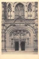 01 - Eglise De BROU - Portail Occidental - Eglise De Brou