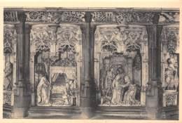 01 - Eglise De BROU - Retable Des Sept Joies De La Vierge - L'annonciation Et La Visitation - Eglise De Brou