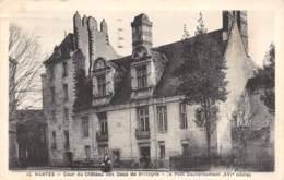 44 - NANTES - Cour Du Château Des Ducs De Bretagne - Le Petit Gouvernement (XVIe Siècle) - Nantes