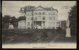 Schooten : Chateau Vorderstein (Hoelen 3063) Verstuurd Augustus 1908 Van Schootenhof Naar Anvers - Schoten
