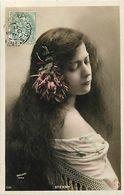 Artistes -ref D209- Femmes - Femme - Artiste - Sterny Et Sa Belle Chevelure - Cheveux - - Entertainers