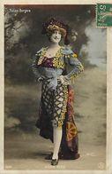 Artistes -ref D208- Femmes - Femme - Artiste - Irene King En Espagnole - Espagne - Espana -spain - Folies Bergeres - - Entertainers