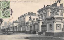 BRUXELLES (rue De La Loi) - L'Entrée Du Parc - Parks, Gärten