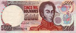 VENEZUELA 5000 BOLIVARES 1998 P-78c   XF++ - Venezuela