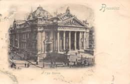 BRUXELLES - La Bourse (carte Oblitérée En Mai 1899) - Monuments, édifices