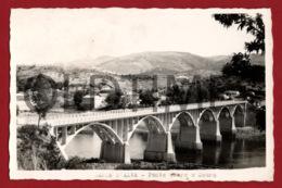 PORTUGAL - BARCA DE ALVA - PONTE SOBRE O DOURO - 1950 REAL PHOTO PC - Guarda