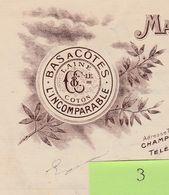 Facture3 / Illustrée /1914 / CHAMPIEUX & Cie / Manufacture Bonneterie / Bas à Côtes, Laine, Coton / Troyes 10 Aube - France