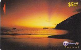 FIJI ISL.(GPT) - Beach At Sunset, CN : 31FJC(normal 0), Used - Figi