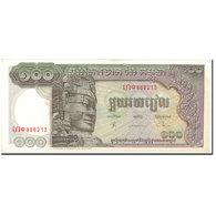 Billet, Cambodge, 100 Riels, UNDATED (1956-75), KM:8c, SUP+ - Cambodge