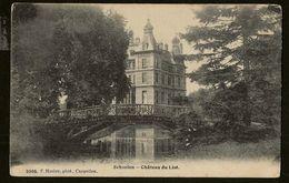 Schooten : Chateau Du List (Hoelenkaart 2005) Verstuurd Juni 1910 Vanuit Anvers - Schoten