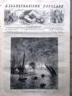 L'illustrazione Popolare 6 Febbraio 1881 Catastrofe Del Richelieu Blanqui Ottawa - Vor 1900