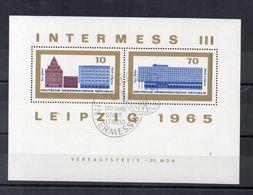 Germania - DDR - 1965 - Foglietto - 800° Anniversario Della Città Di Lipsia - Annullato - (FDC22782) - [6] Democratic Republic