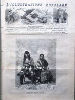 L'illustrazione Popolare 13 Febbraio 1881 Bellavitis Kurdistan Mount-Herman Neri - Vor 1900