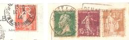 France - PERFIN Sur Deux CP - 1914-1938 - Castelnaudary - France