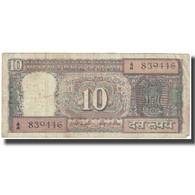 Billet, Inde, 10 Rupees, Undated (1977-82), KM:60f, TB - Inde