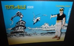 Carte Postale - Texte Et Bulle 2009 - Capitaine Sabre (illustration : Christian Gine) Damparis - Jura - Autres Illustrateurs