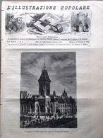 L'illustrazione Popolare 20 Febbraio 1881 Atene Parlamento Ottawa Corbetta Vita - Vor 1900