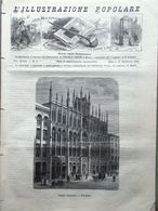 L'illustrazione Popolare 27 Febbraio 1881 Massoni A Philadelphia Guaracà Gorini - Vor 1900