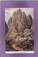 Le Couvent Ste Catherine Au Sinaï Das Katharinenkloster Am Snai St Catherine's Cloister By Mount Sinai - Egypt