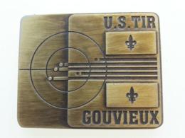 Médaille Du Club U.S.Tir De Gouvieux (Oise) - France