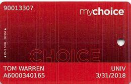 Pinnacle Entertainment Casinos USA - My Choice Slot Card - Copyright 2017 - Cartes De Casino