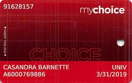 Pinnacle Entertainment Casinos USA - My Choice Slot Card - Copyright 2018 - Cartes De Casino