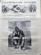 L'illustrazione Popolare 6 Marzo 1881 Storia Orologi San Teodoro Atene Sovrani - Vor 1900