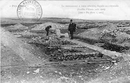 ALISE-SAINTE-REINE .Le Monument à Trois Absides, Façade Occidentale ( Fouilles D'Alesia, Août 1906 ) - France