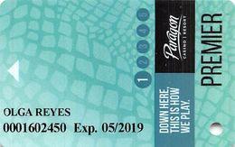 Paragon Casino - Marksville LA - Slot Card - Cartes De Casino