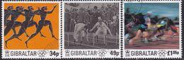 GIBRALTAR 1996 SG #776-78 Compl.set Used Centenary Of Modern Olympic Games - Gibraltar