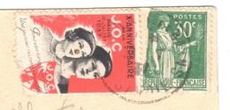 France - Congrès Du 10e Anniversaire De La JOC (JEUNESSES OUVRIERES CHRETIENNES), Paris, 18 Juillet 1937 - Scoutismo