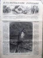 L'illustrazione Popolare 13 Marzo 1881 Storia Di Orologi Thomas Carlyle Duilio - Vor 1900