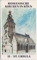 !!!!GERMANY-709 - O 0955 96 - 2.000EX. - Kölner Bank - Motiv 11 (Serie: Kirchen - St. Ursula) - Germany