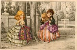 A. BERTIGLIA * Illustrateur * N°2454 * Enfants Amoureux Jalousie - Bertiglia, A.