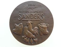 """Médaille """"Aliments Sanders """" Avec L 'effigie De Sully - France"""
