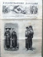 L'illustrazione Popolare 3 Aprile 1881 Terremoto Casamicciola Mongolia Ravenna - Vor 1900