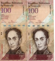 VENEZUELA 100 BOLIVARES 2009/11/   Circ. - Venezuela
