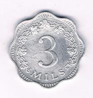 3 MILS 1972  MALTA  /5291// - Malta