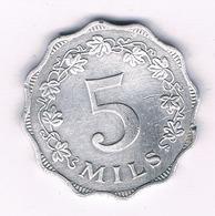 5 MILS 1972  MALTA  /5292// - Malta