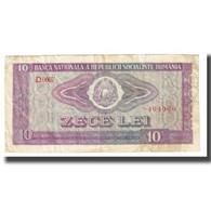 Billet, Roumanie, 10 Lei, KM:94a, TB - Rumänien