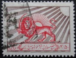 IRAN Bienfaisance N°16 Filigrane D Oblitéré - Iran